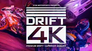 getlinkyoutube.com-Motorcycle vs. Car Drift Battle 4 (Full 4K)