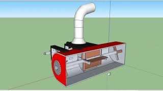 getlinkyoutube.com-Чертеж 3D самодельного роторного снегоуборщика для мотоблока