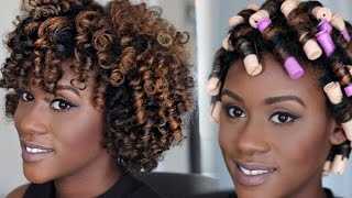 getlinkyoutube.com-Perm Rod Set Tutorial for Natural Hair | iknowlee