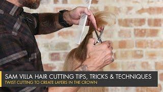 getlinkyoutube.com-Twist Cutting to Create Layers in the Crown
