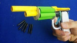 getlinkyoutube.com-Как сделать револьвер пистолет с использованием бумаги | 6 бумажные пули
