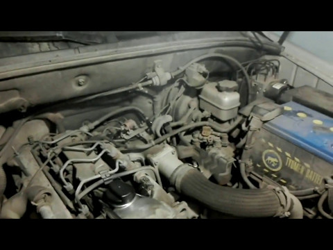 SsangYong Kyron - Эксперимент окончен+замена масла в двигателе.