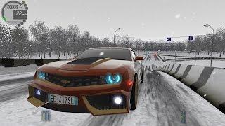 getlinkyoutube.com-City Car Driving 1.5.0 Chevrolet Camaro VR TrackIR Pro 4 [1080P]