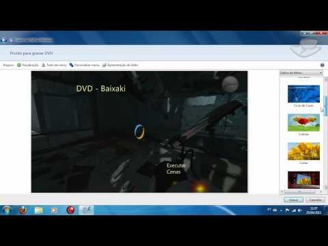 Dicas do Windows 7 - Como criar DVDs com menus - Baixaki