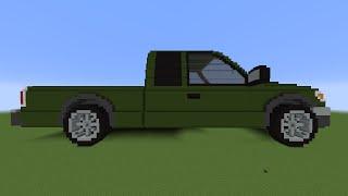 getlinkyoutube.com-How To Make A Minecraft Car!
