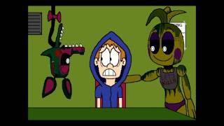 getlinkyoutube.com-( Five Nights At Freddy's animation ) Phantom Toy animatronics - Crazy Is Crazy