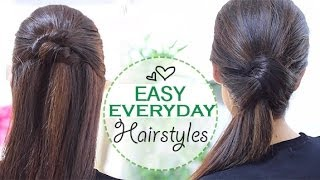 getlinkyoutube.com-Easy everyday hairstyles