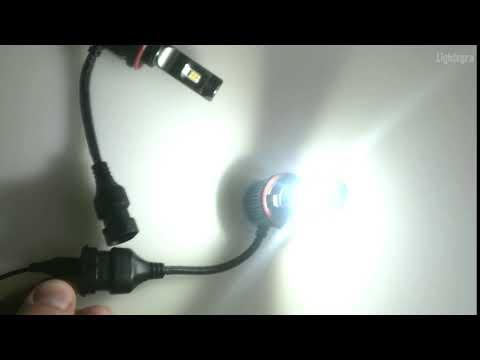 Светодиодные лампы для ПТФ V11 H11 (два цвета)