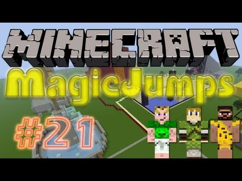 Let's Play Minecraft Adventure-Maps [Deutsch/HD] - MagicJumps #21