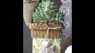 getlinkyoutube.com-Recyklujte so mnou, pletenie z papiera / Recycle with me, paper knitting