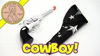getlinkyoutube.com-Cowboy-Dave Shootin' A Toy Cap Gun ** Bonus Lightning Strike!!! **