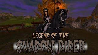 getlinkyoutube.com-GHOST in Star Stable - Legend of the Shadow Rider HALLOWEEN SPECIAL