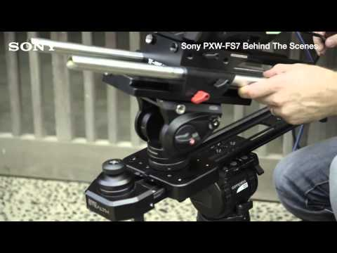 Sony Professional BTS with the PXW FS7 and Den Lennie