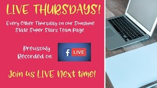 LIVE Thursday: Tips to Market Our New Scentsy Collection