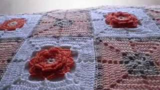 getlinkyoutube.com-T&P- La Ternura / Tenderness -Crochet / GAnchillo Manta / Blanket / Afghan
