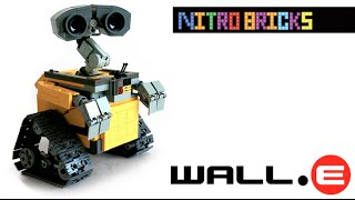 getlinkyoutube.com-Lego Ideas 21303 WALL•E   Lego Speed Build