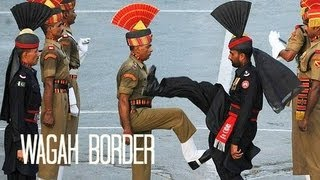 getlinkyoutube.com-Pakistan: Wagah Border Ceremony واگها वाघा