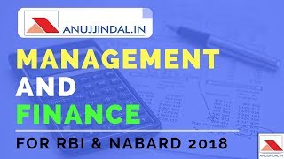 Management Case Studies - Finance and Management Introduction - RBI Grade B & NABARD 2018