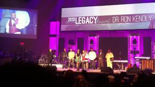 Tribute to Ron Kenoly at Deeper 2013 Conference