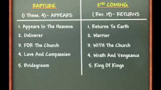 getlinkyoutube.com-The Rapture Vs.The Second Coming Of Jesus Christ