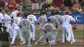 getlinkyoutube.com-MLB: Bench-Clearing Brawls