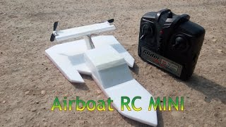 getlinkyoutube.com-How To Make Airboat RC Mini - version 4