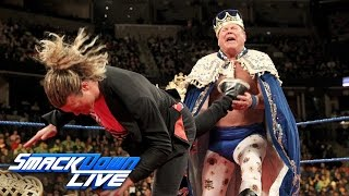 "getlinkyoutube.com-Jerry ""The King"" Lawler gets crowned by Ziggler on ""King's Court"": SmackDown LIVE, Jan. 17, 2017"