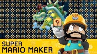 getlinkyoutube.com-Super Mario Maker - 100 Mario Challenge - Normal - #1