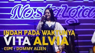 Vita Alvia   Indah Pada Waktunya (Official Music Video)