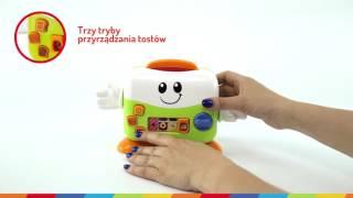 Mały Kucharz Wesoły Toster Smily Play 0753