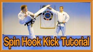getlinkyoutube.com-Taekwondo Spinning Hook Kick Tutorial | GNT