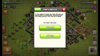 How to move your coc base to another phone