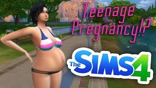 getlinkyoutube.com-Teenage Pregnancy!? (Ep.18) | The Sims 4