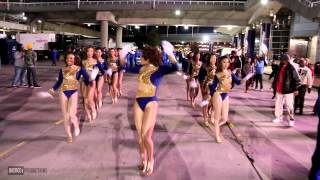 "getlinkyoutube.com-Southern University Human Jukebox  ""Marching Out"" Bayou Classic BOTB 2013"