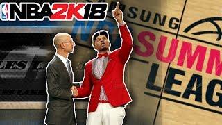 Rakeem King Gets Drafted Low? My NBA 2K18 MyCareer Series! Summer League Coming Soon