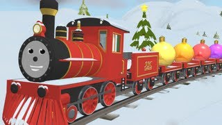 getlinkyoutube.com-Learn Colors and Decorate the Tree with Shawn the Train