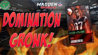 MADDEN MOBILE 99 OVERALL DOMINATION GRONK!