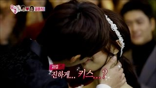 【TVPP】Song Jae Rim - First kiss with So Eun, 송재림 - 드디어 소림커플 첫 키스 성공?! @ We Got Married