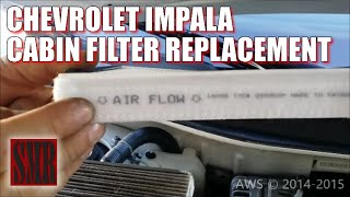 getlinkyoutube.com-How To Replace Chevrolet Impala Cabin Air Filter