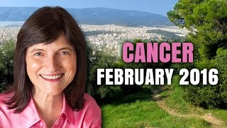 getlinkyoutube.com-CANCER FEBRUARY 2016 Astrology Horoscope | Barbara Goldsmith