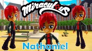 getlinkyoutube.com-Miraculous Ladybug Toy NATHANIEL Evillustrator Doll Custom Tutorial | Evies Toy House