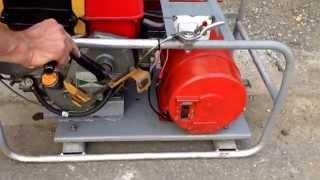 getlinkyoutube.com-Yanmar diesel generator
