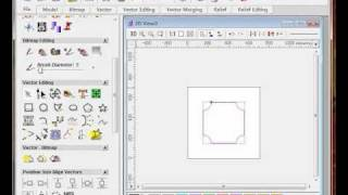 Make toolpath for table top groove in ArtCAM Pro