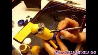 getlinkyoutube.com-Como hacer Fofucha de Los Minions en menos de una hora