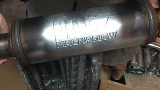 getlinkyoutube.com-Jeep JK Wrangler Magnaflow Exhaust review Part 1