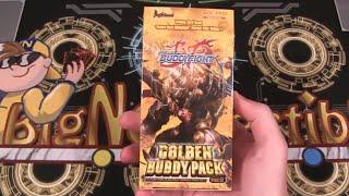 getlinkyoutube.com-Future Card Buddyfight Perfect Pack 1 Golden Buddy Pack Ver. E