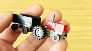 getlinkyoutube.com-How to create a Small Tractor with Flatbed (Lego Toy)