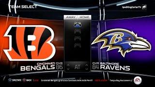getlinkyoutube.com-MADDEN NFL 15 PS4 Full Gameplay: Bengals vs Ravens - Week 1 NFL Regular Season Matchup Simulation