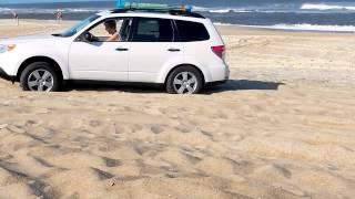 getlinkyoutube.com-2012-09-06, Subaru On the Beach At Hatteras Island.mp4
