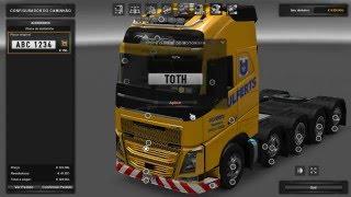 getlinkyoutube.com-Euro Truck SImulator 2 mod Volvo FH 10x4  para 1.22 Download